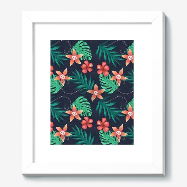 Картина «Паттерн «Гавайи с изюминкой»»