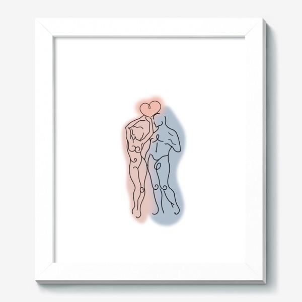 Картина «Сердце его теперь в твоих руках... Это любовь.  День влюблённых. Любимым»