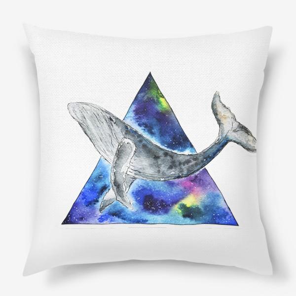 Подушка «Галактический кит                                 »