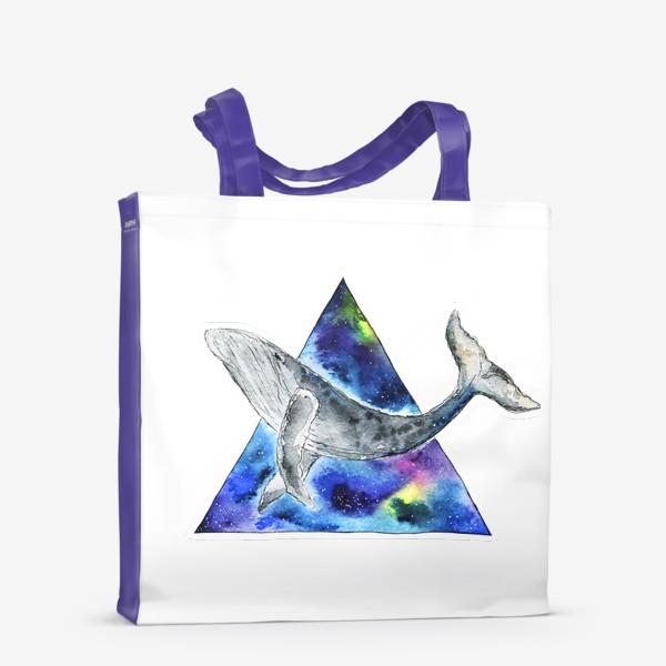 Сумка-шоппер «Галактический кит                                 »