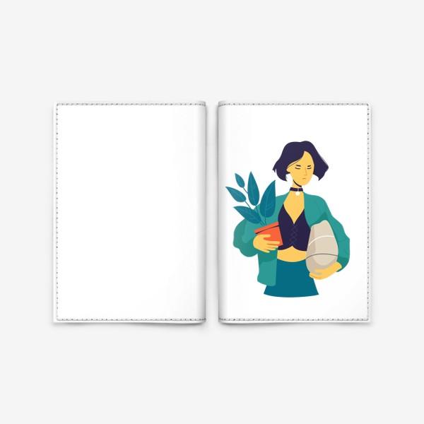 Обложка для паспорта «Матильда »