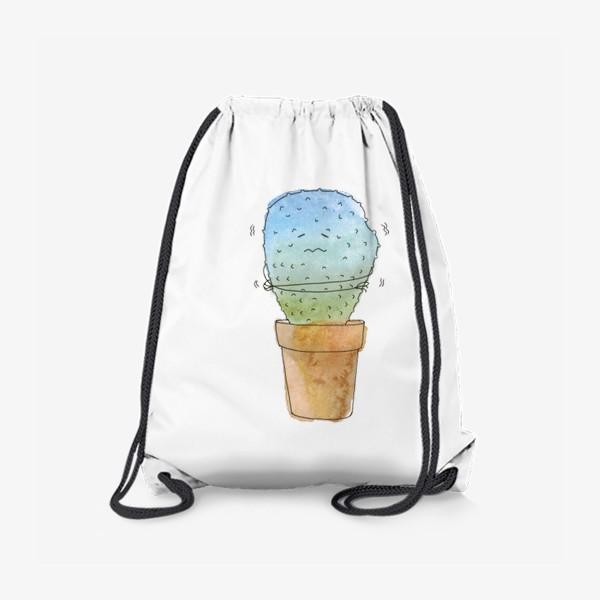 Рюкзак «Кактус зимой»