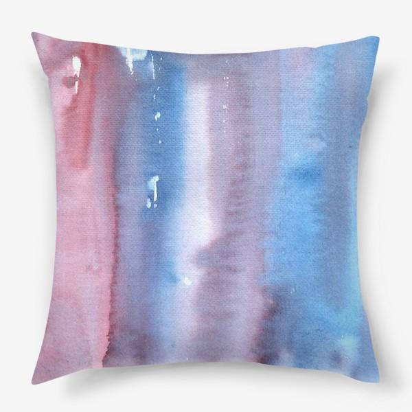 Подушка «Абстрактный фон в фиолетовом цвете»