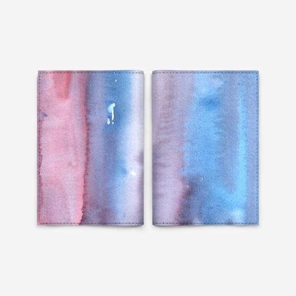 Обложка для паспорта «Абстрактный фон в фиолетовом цвете»