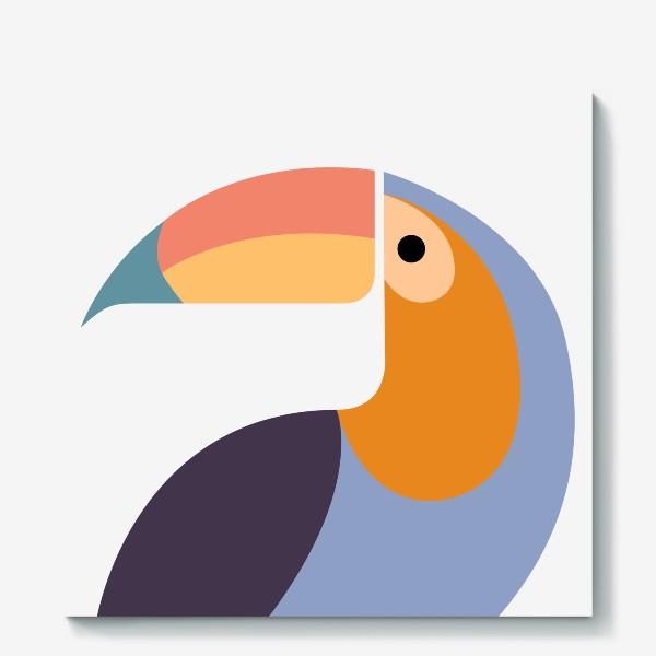 Холст «Птица Тукан»