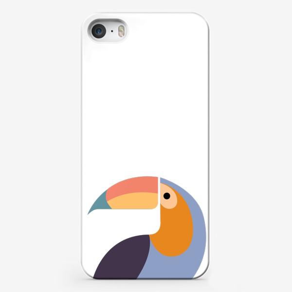 Чехол iPhone «Птица Тукан»