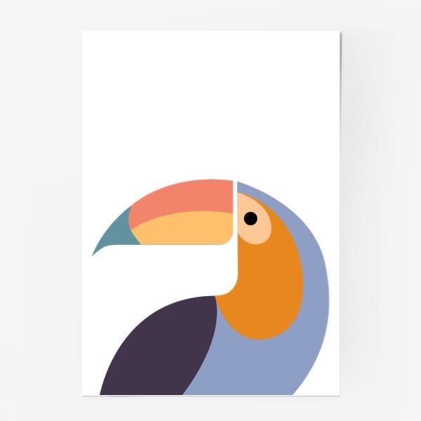 Постер «Птица Тукан»