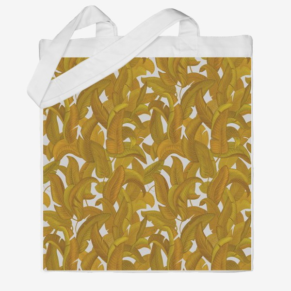 Сумка хб «Желтые листья»