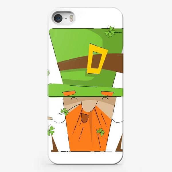 Чехол iPhone «Святой Патрик»