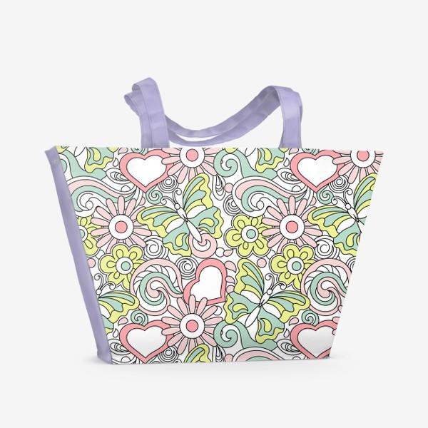 Пляжная сумка «Теплые деньки»