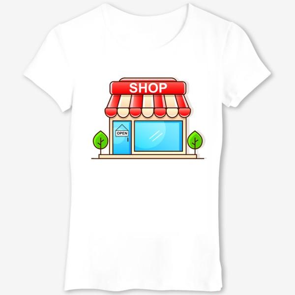 Футболка «Supermarket shopping »