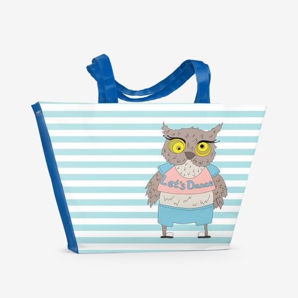 Пляжная сумка «Сова»