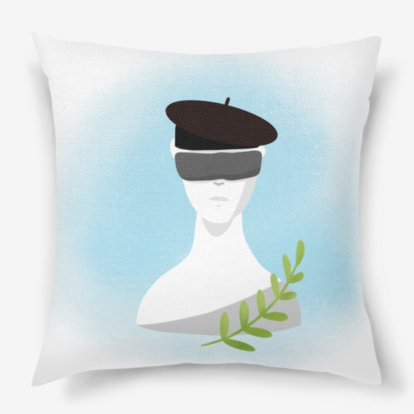 Подушка «Скульптура искусство »
