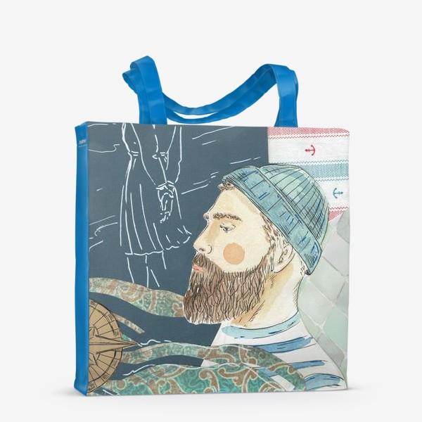 Сумка-шоппер «моряк»