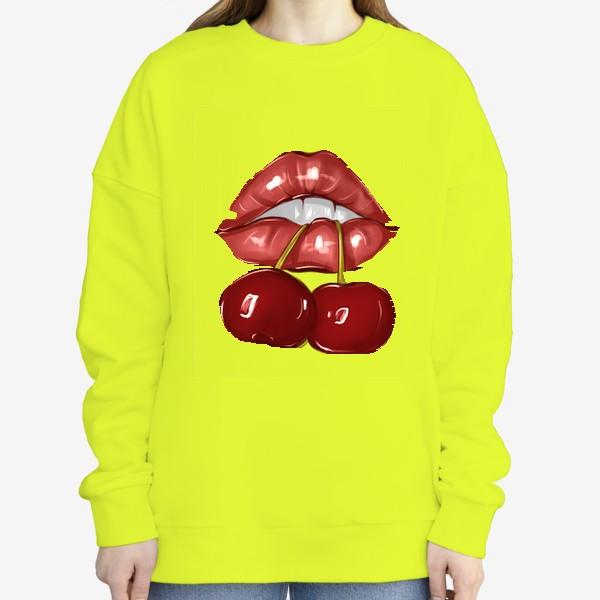 Свитшот «Cherry lips»