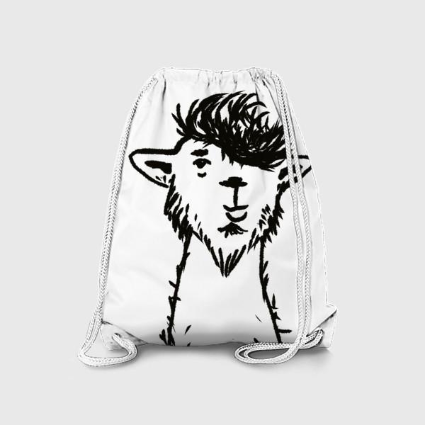 Рюкзак «лама. альпака»