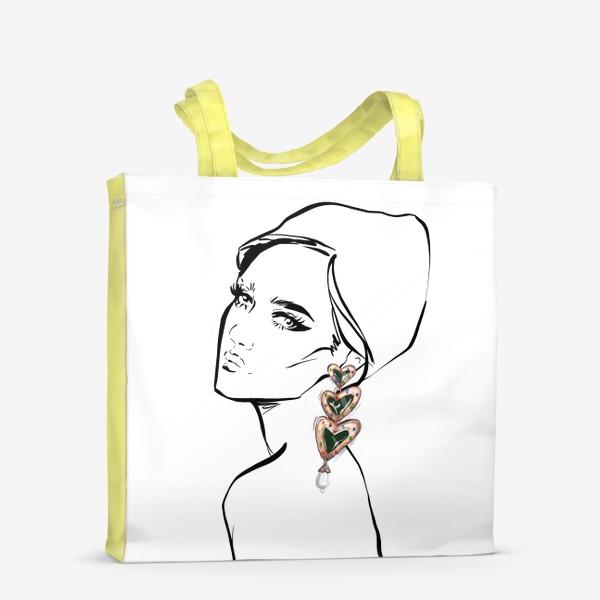Сумка-шоппер «Girl with earring »