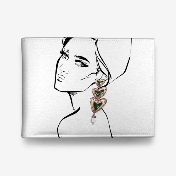 Кошелек «Girl with earring »