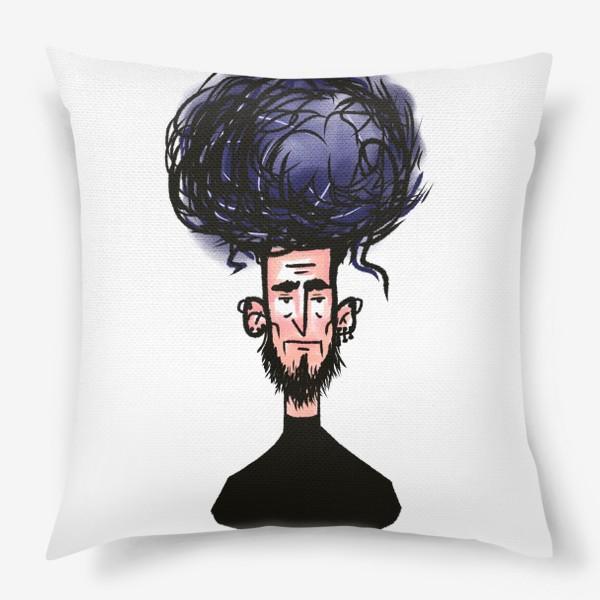 Подушка «фиолетовый»