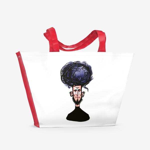 Пляжная сумка «фиолетовый»