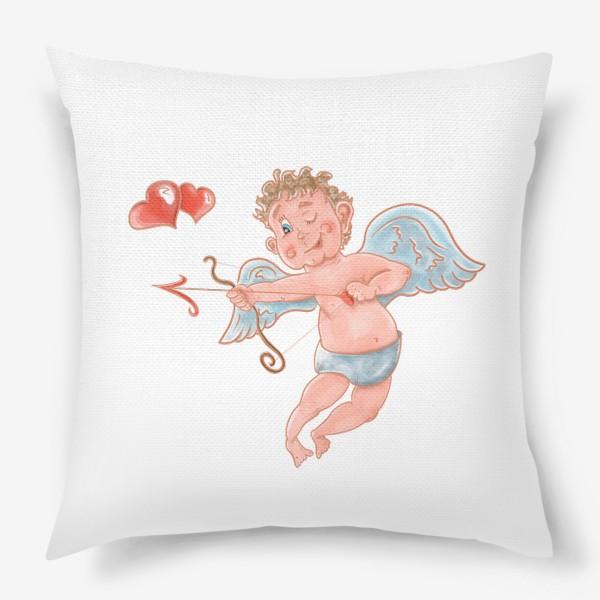 Подушка «Амур. День влюбленных»