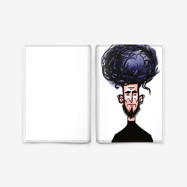 Обложка для паспорта «фиолетовый»