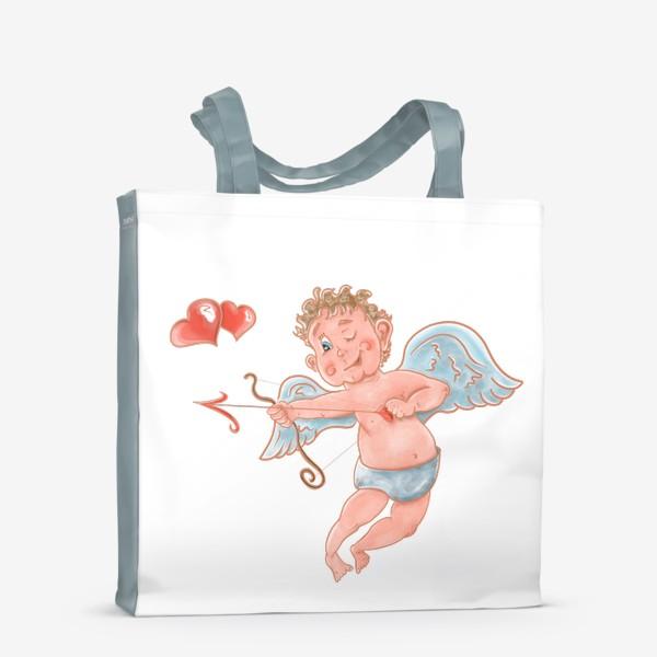 Сумка-шоппер «Амур. День влюбленных»