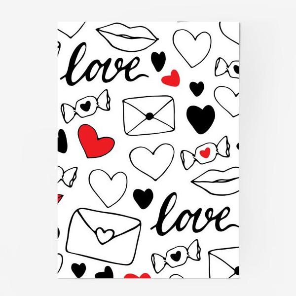Постер «Любовная тема»