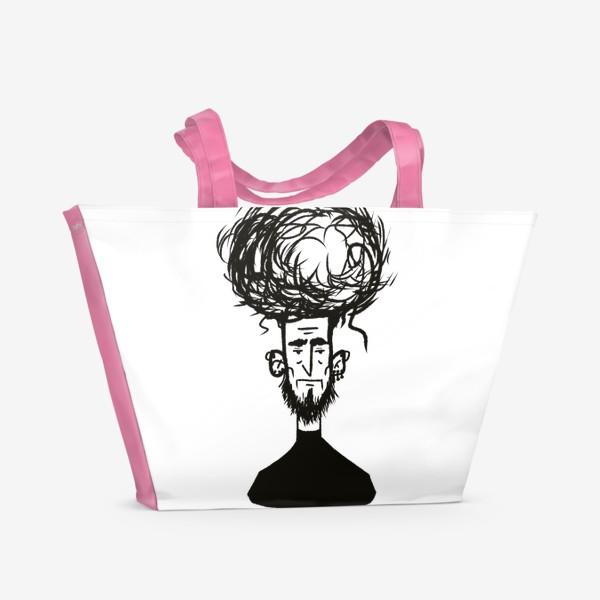 Пляжная сумка «немного усталь»