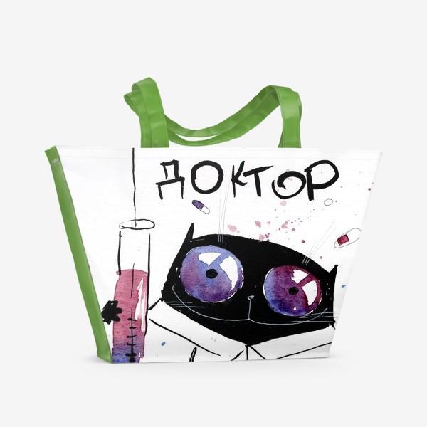 Пляжная сумка «Мафия - Доктор»