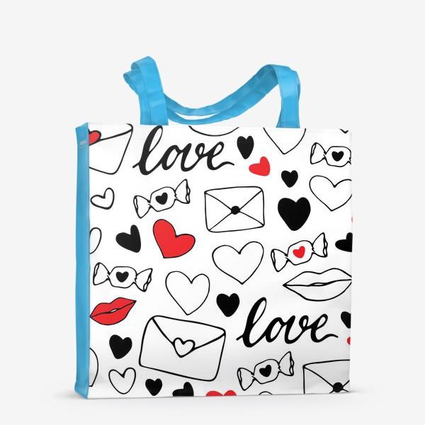 Сумка-шоппер «Любовная тема»