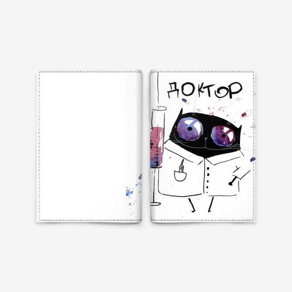 Обложка для паспорта «Мафия - Доктор»