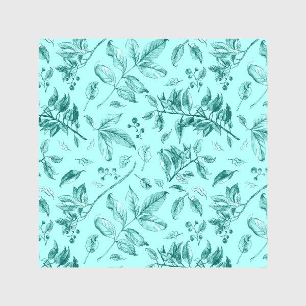 Скатерть «Акварельные осенние листья 7»