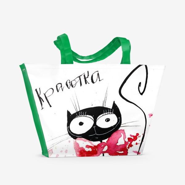Пляжная сумка «Мафия - Красотка»