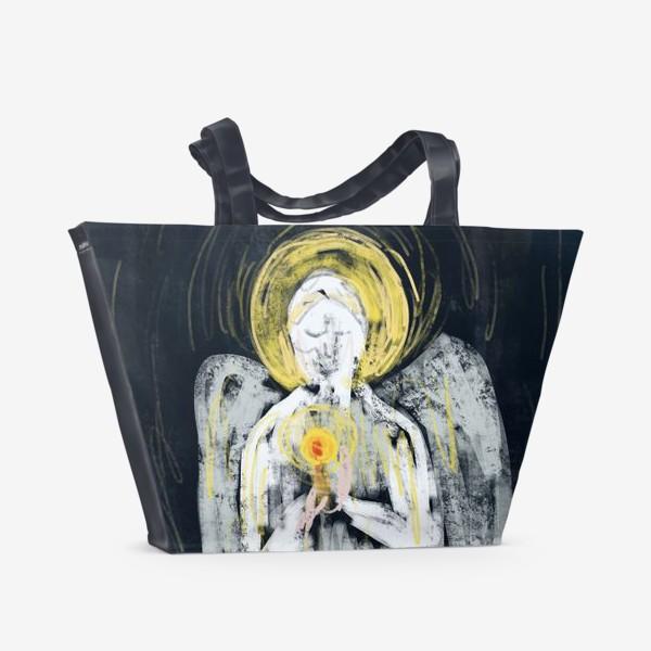 Пляжная сумка «Ангел надежды»