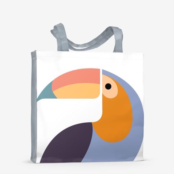Сумка-шоппер «Птица Тукан»