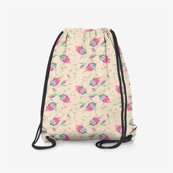 Рюкзак «Милые цветы на вьющихся веточках»
