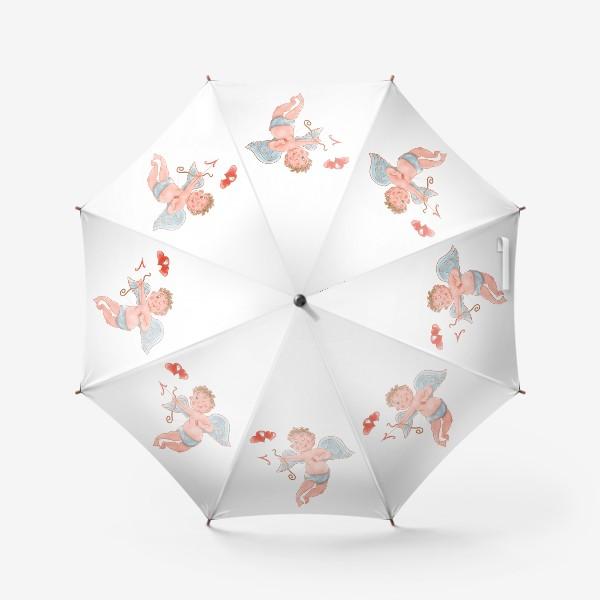 Зонт «Амур. День влюбленных»