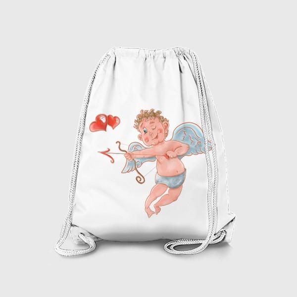 Рюкзак «Амур. День влюбленных»