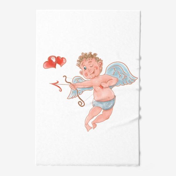 Полотенце «Амур. День влюбленных»