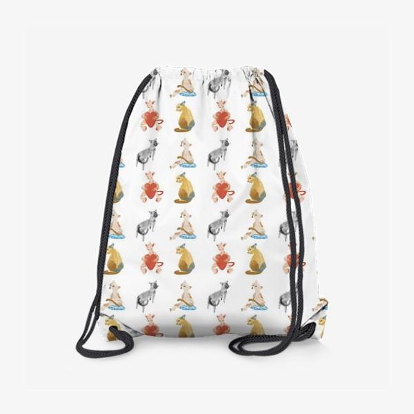 Рюкзак «Коты разные- коты классные»