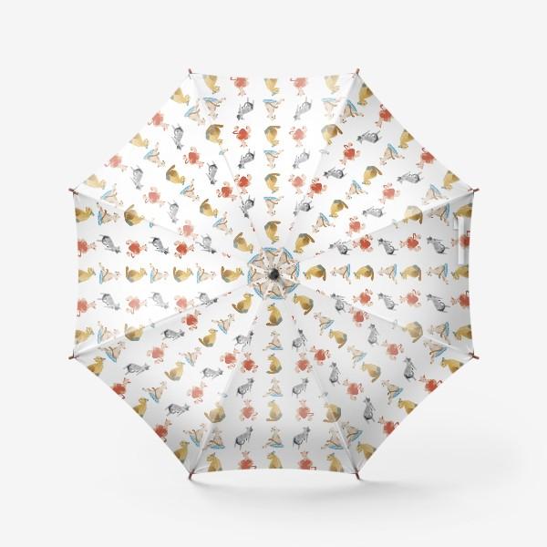 Зонт «Коты разные- коты классные»