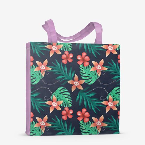 Сумка-шоппер «Паттерн «Гавайи с изюминкой»»