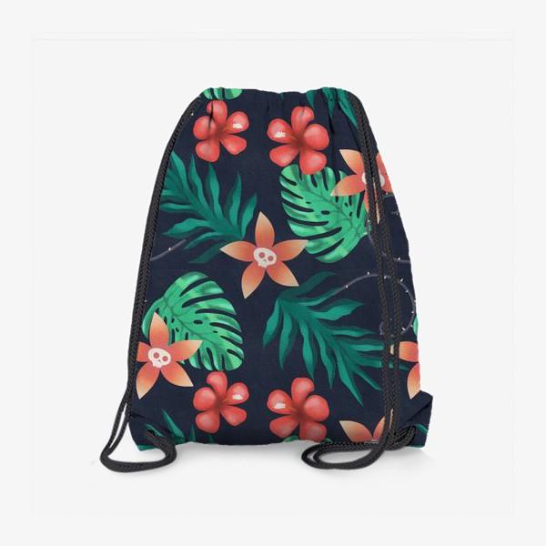 Рюкзак «Паттерн «Гавайи с изюминкой»»
