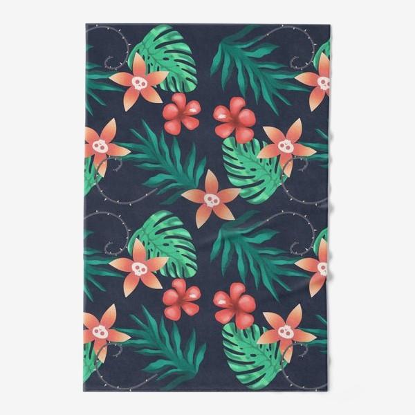 Полотенце «Паттерн «Гавайи с изюминкой»»