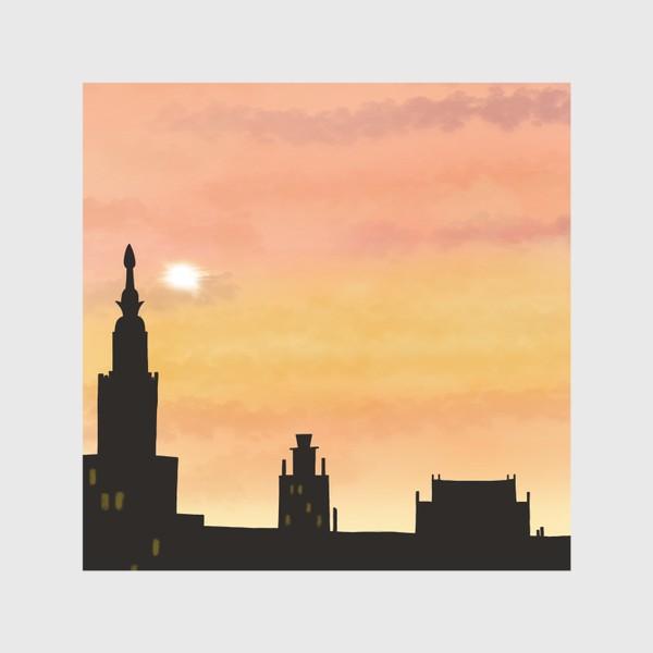 Скатерть «Восход в городе»