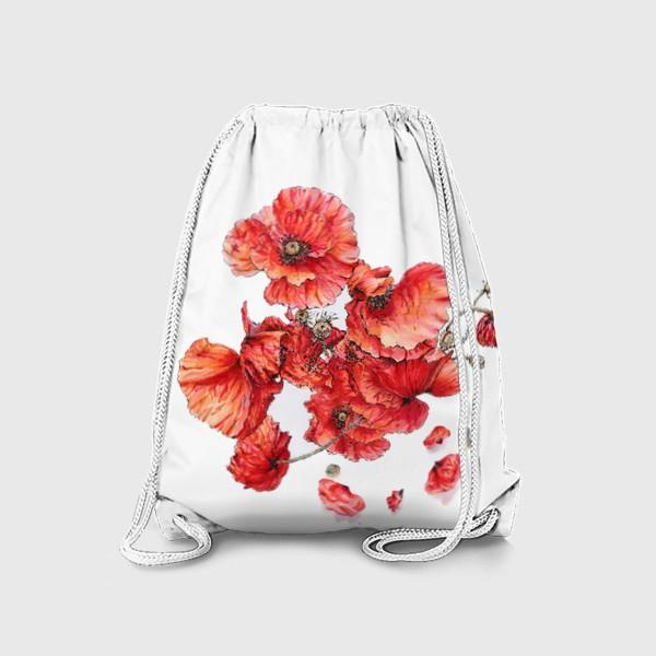 Рюкзак «Букет маков»