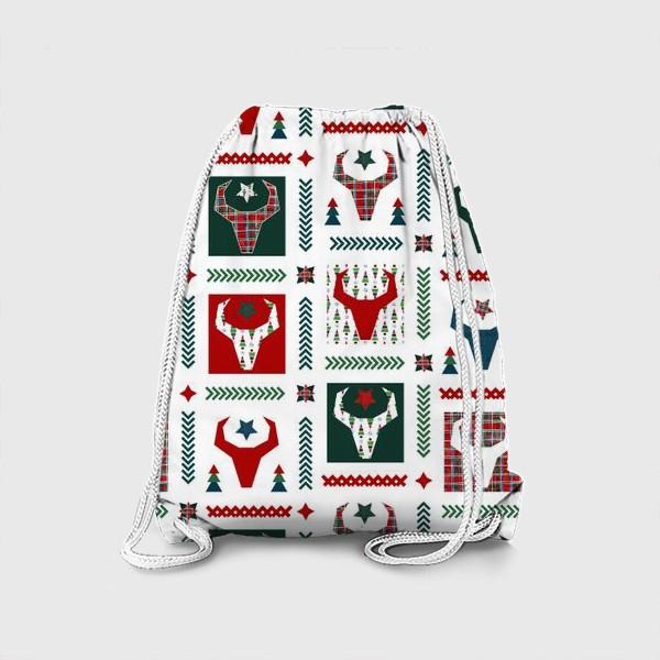 Рюкзак «Паттерн бык.»