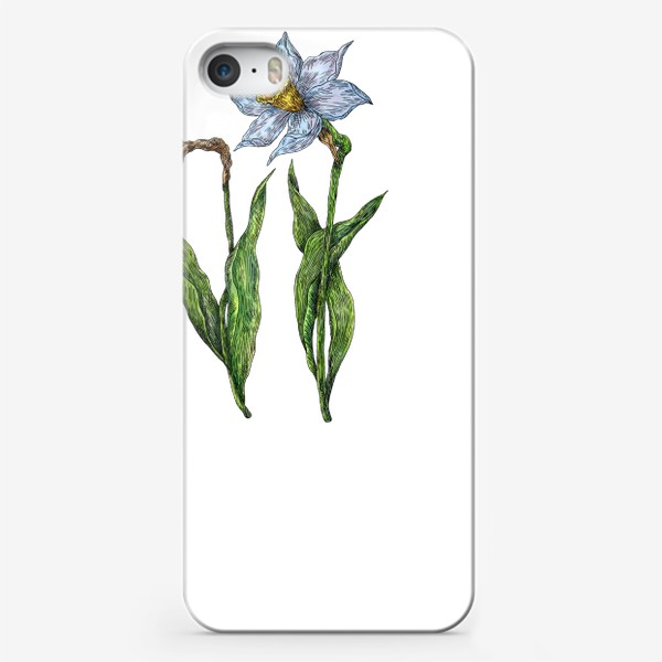 Чехол iPhone «Нарциссы цветут»