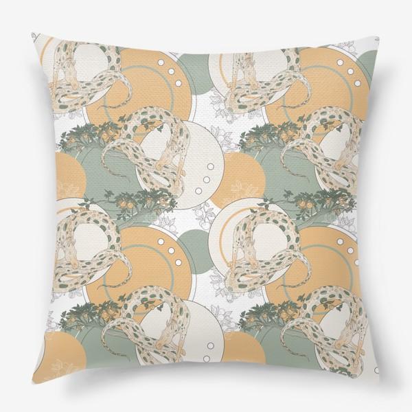 Подушка «Snake pattern»